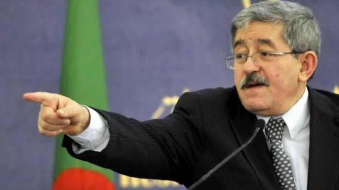 أحمد أويحيى رئيس الوزراء الجزائري