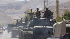 امریکی بکتر بند گاڑیوں کی پہلی کھیپ لبنانی فوج کے حوالے