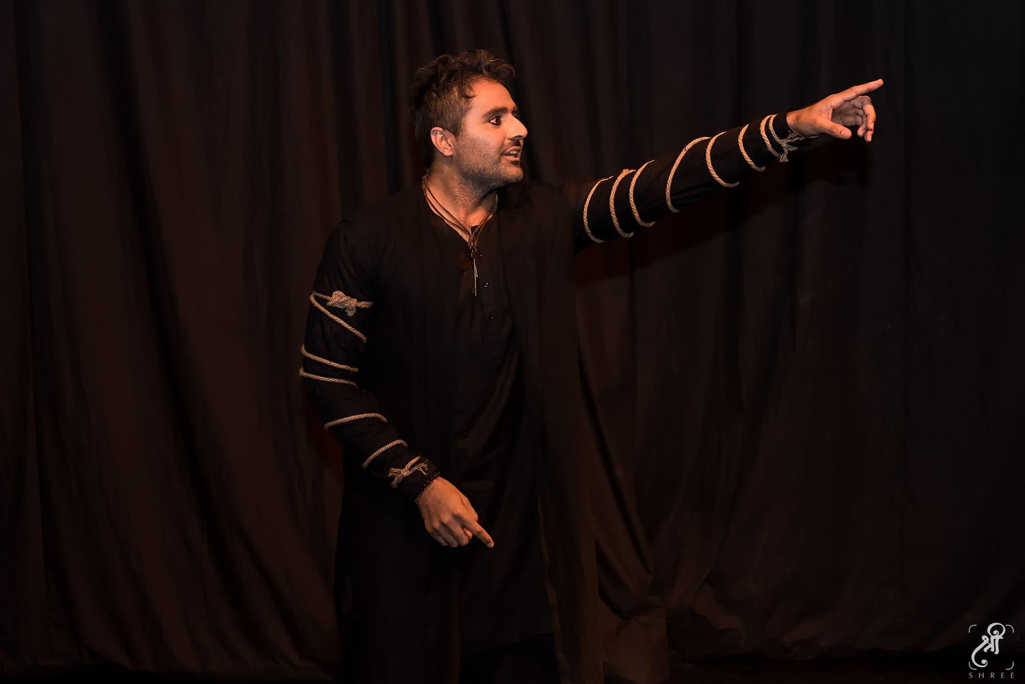 A still from the Urdu play Mia Biwi aur Wagah. (Supplied)