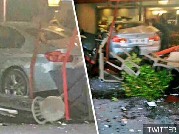 طفلة قتيلة و6 جرحى في اقتحام سيارة لمطعم قرب باريس