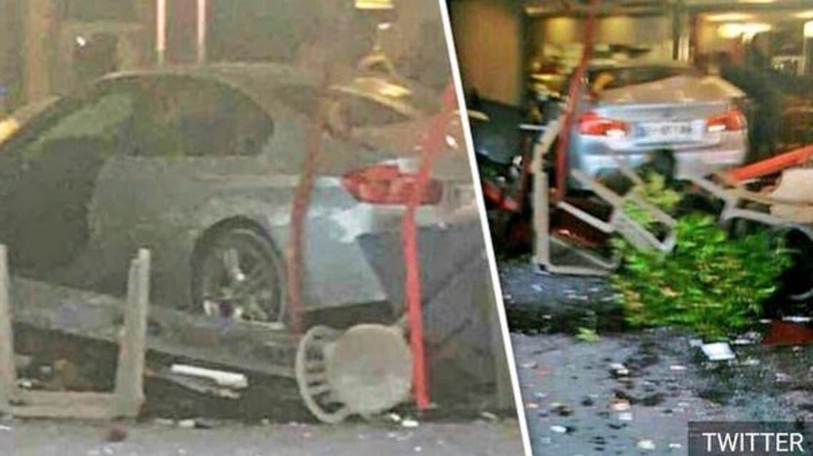 زدن خودرو به یک پیتزافروشی در پاریس کودکی را کشت و ۶ نفر را زخمی کرد