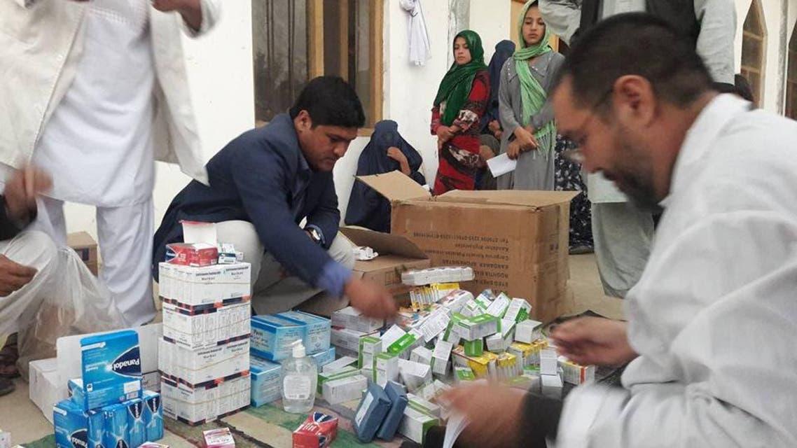 تصویری... کمکها به میرزا اولنگ پس از تصرف نیروهای امنیتی افغانستان