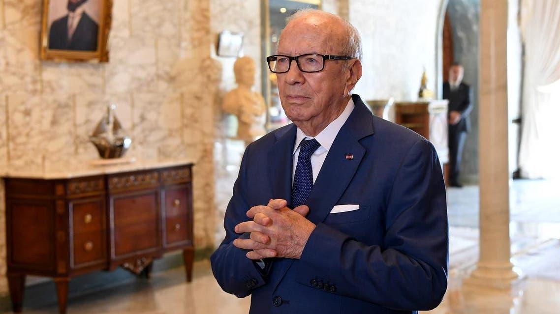 Essebsi Tunisia AFP