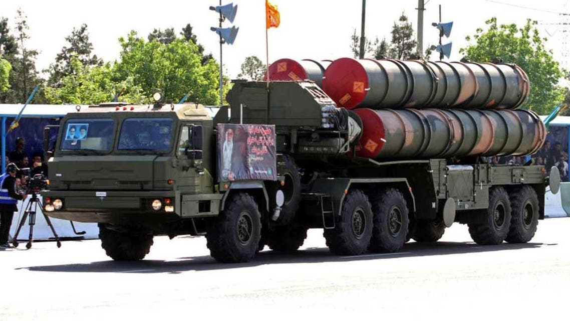 "صواريخ ""8اس 300"" التي سلمتها إيران مؤخرا إلى سوريا"