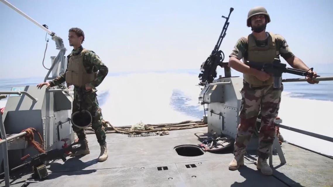 THUMBNAIL_ خفر السواحل الليبي يعترض سفينة إنقاذ في المتوسط