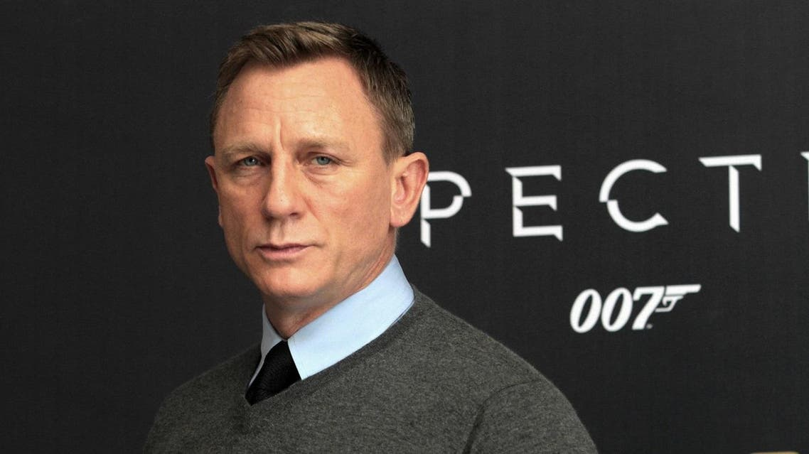 """(FILES) This file photo taken on November 01, 2015 shows British actor Daniel Craig during the presentation of the 24th edition of the James Bond movie """"Spectre"""", in Mexico City. Daniel Craig, the British actor who once complained he'd rather slash his wrists than play James Bond a fifth time, is returning after all as 007, US media reported July 25, 2017. Citing two unnamed people """"briefed on the matter,"""" The New York Times said the 49-year-old's return to the big screen in 2019 was a """"done deal"""" for the 25th movie in a franchise that has thrilled generations of cinemagoers."""