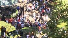 فيديو.. شجرة معمرة تحصد عشرات القتلى والجرحى