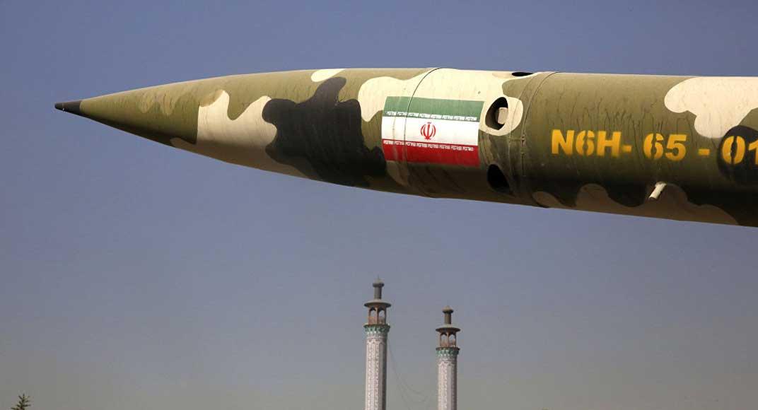 أحد الصواريخ الروسية الذي عرضته إيران خلال أحد العروض العسكرية