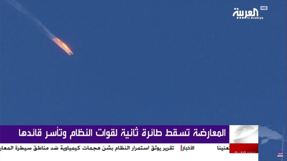 syrian regime plane