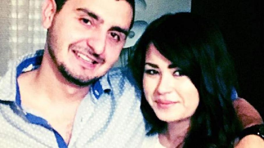 اللبناني محسن فنيش وزوجته تامّي تشين، القتيلة معه وهي حامل بشهرها السادس