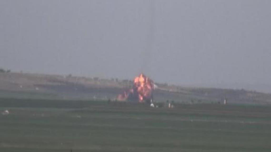 مخالفان یک جنگنده رژیم سوریه را سرنگون کردند