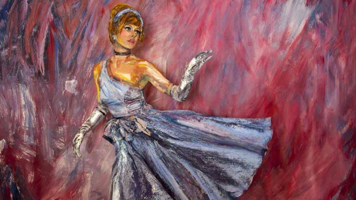Alexa Meade artist paints on models. (alexameade.com)