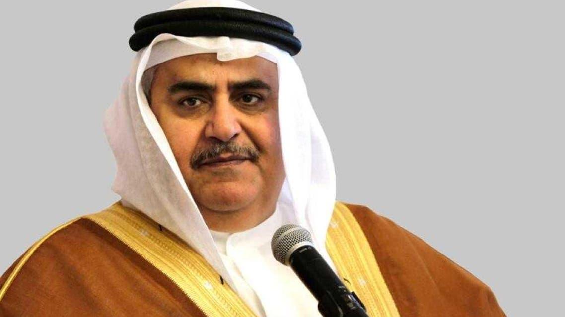 وزير الخارجية البحريني خالد بن احمد آل خليفة