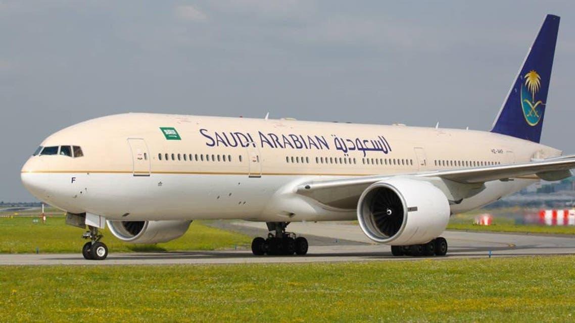 طائرة الخطوط الجوية السعودية 3