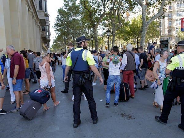 فيديو للحظات الهروب والرعب من عملية الدهس وسط برشلونة