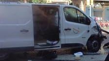 WATCH: CCTV footage shows speeding Barcelona attack van
