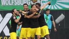 دورتموند يبدأ الدوري الألماني بالفوز على فولفسبورغ
