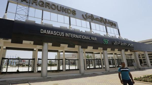 قتلى وجرحى بقذيفة سقطت قرب معرض دمشق