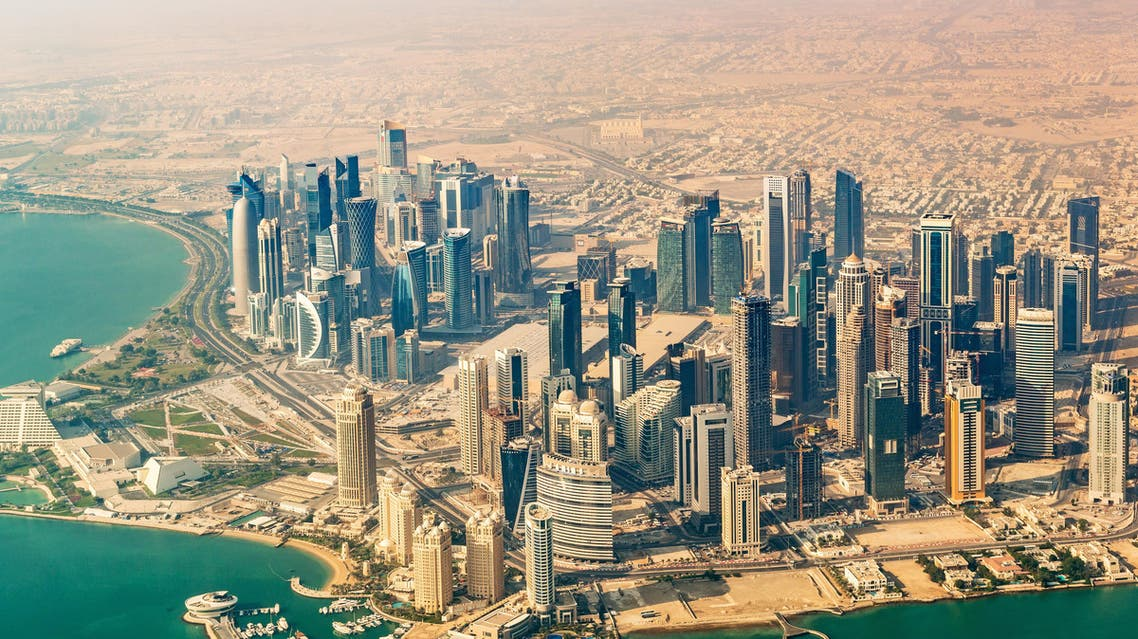 qatar aerial view. (Shutterstock)