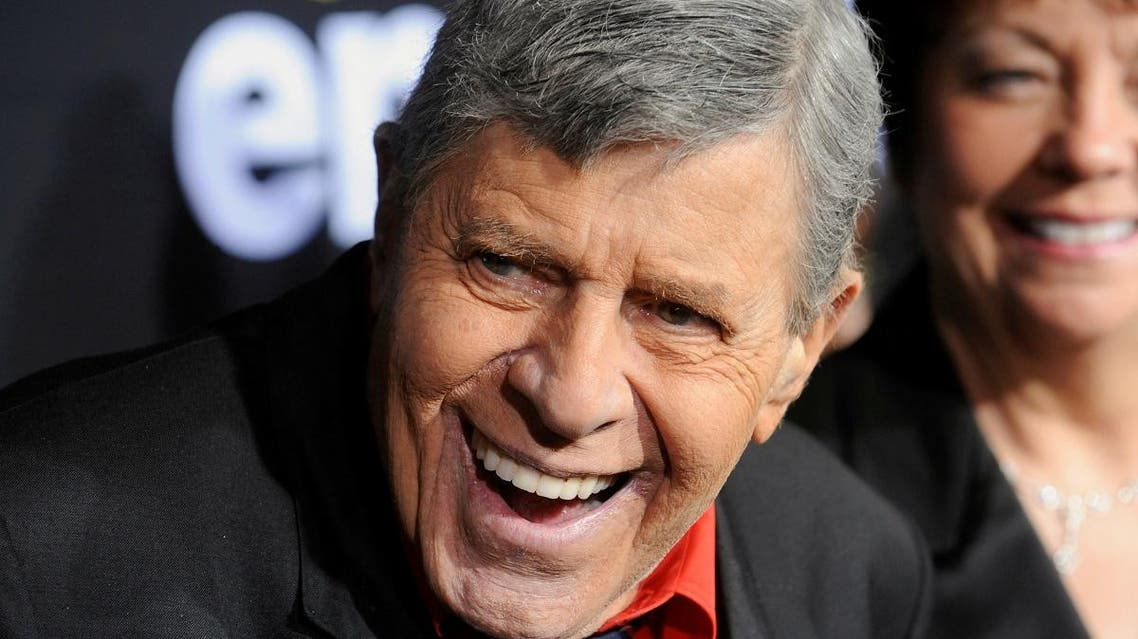 "U.S. comedian Jerry Lewis attends a special screening of the feature-length documentary ""Method to the Madness of Jerry Lewis"" at Paramount Studios in Los Angeles. (Reuters)"