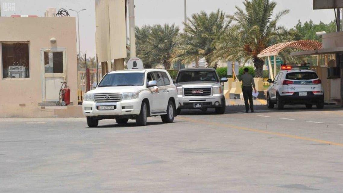 Salwa borded between saudi arabia and qatar