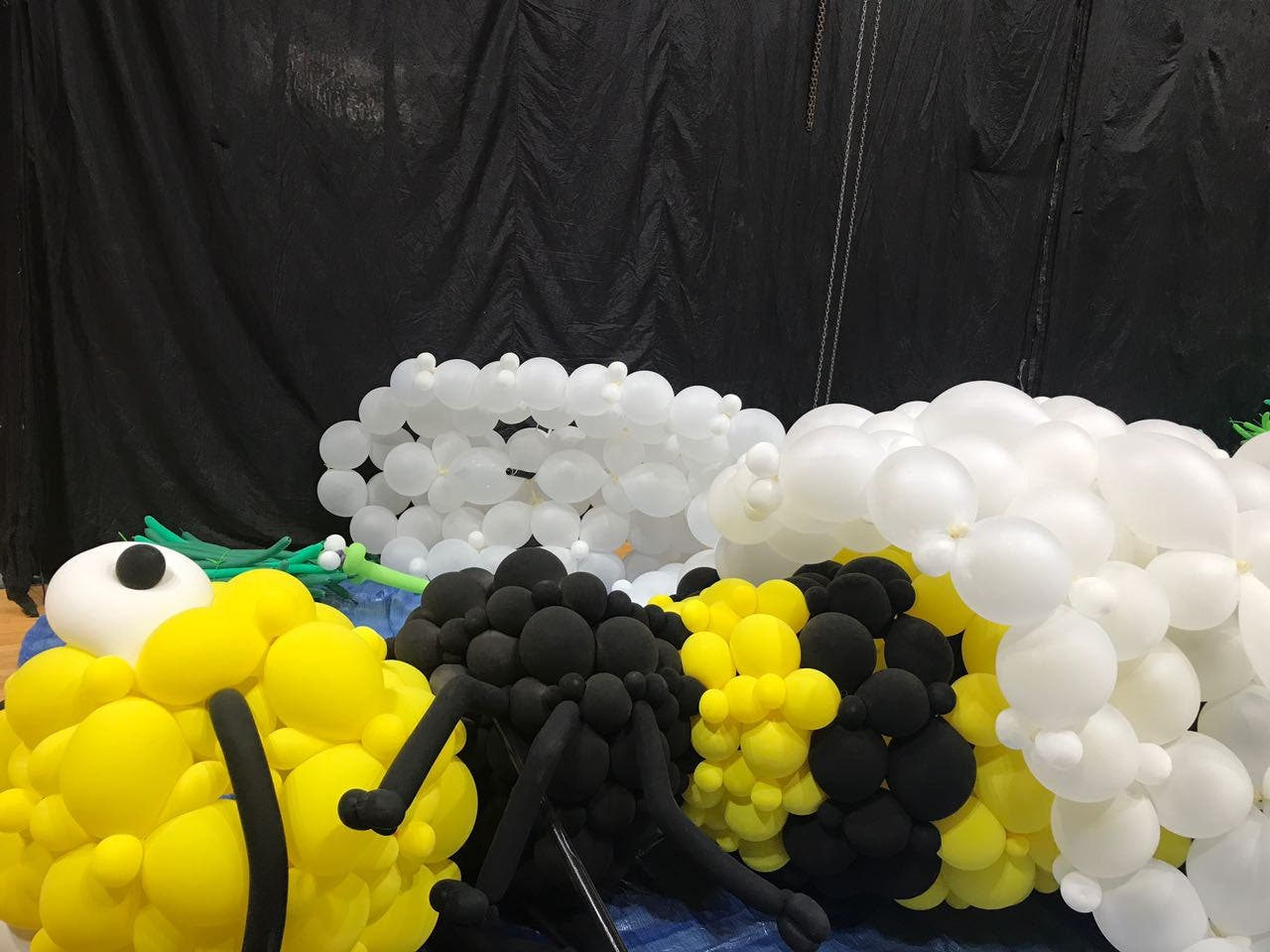 مجسمات من البالون