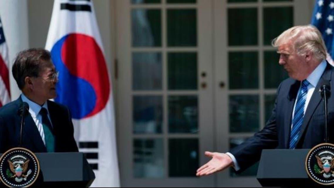 ترمب - كوريا الجنوبية