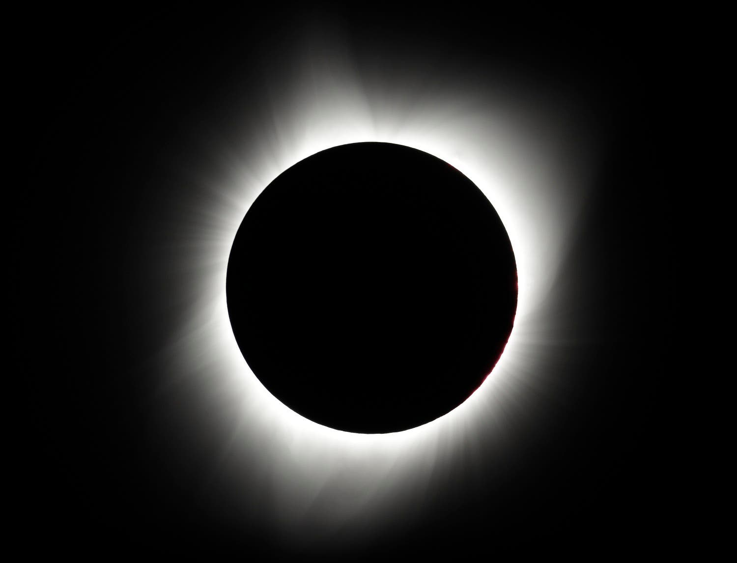 US looks up to the sky as solar eclipse takes over