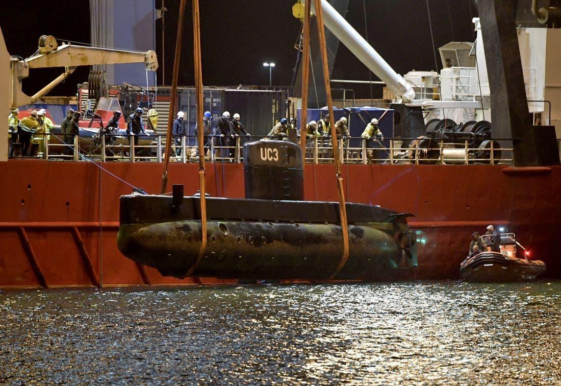 از آب گرفتن زیردریایی