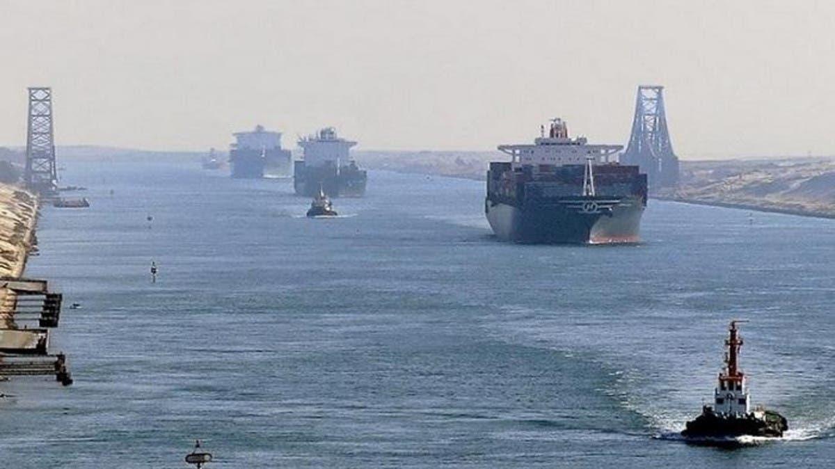 مصر تعلن تصادم 5 سفن في قناة السويس