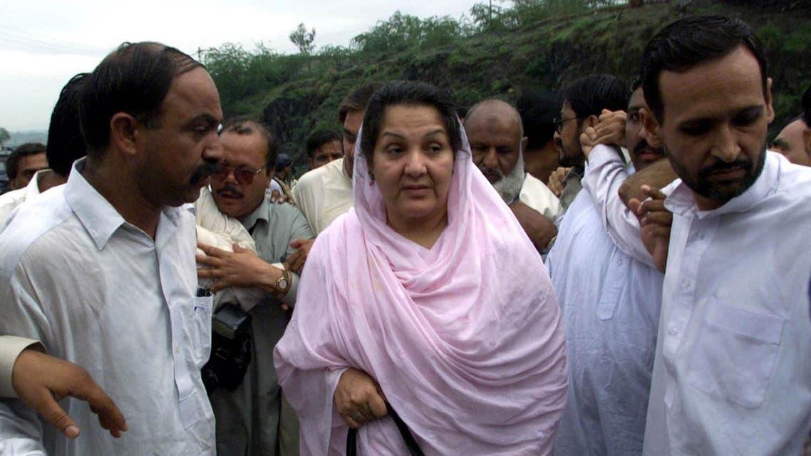 Begum Kulsoom Nawaz (C), wife of deposed prime minister Nawaz Sharif. (File photo: Reut