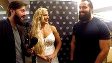 EXCLUSIVE VIDEO: WWE Superstar Rusev invades his wife Lana's interview