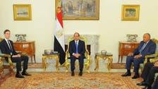 تفاصيل محادثات السيسي وصهر ترمب في القاهرة