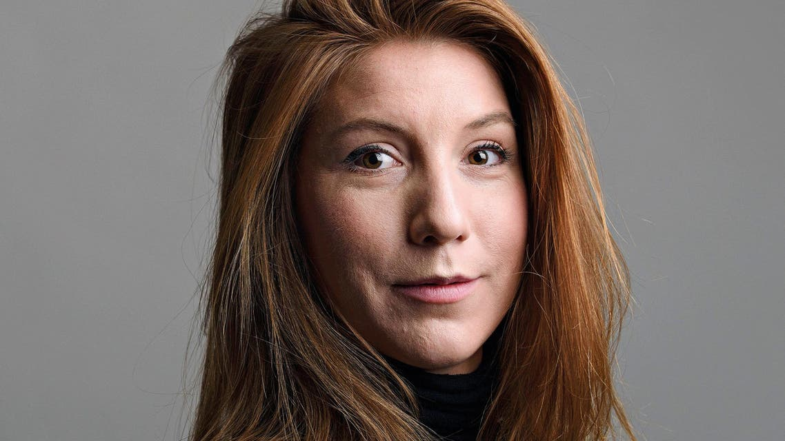"""A photo of Swedish journalist Kim Wall who was aboard a submarine """"UC3 Nautilus"""" before it sank. reuters"""