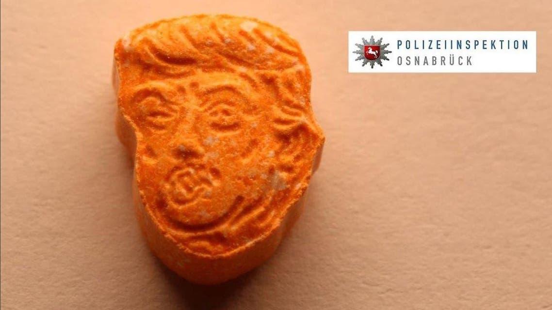 Trump pill Osnabrück police
