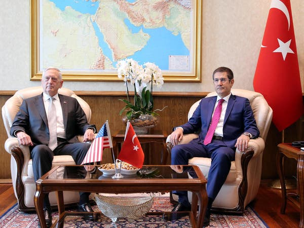 ماتيس يصل تركيا بعد العراق وإقليم كردستان