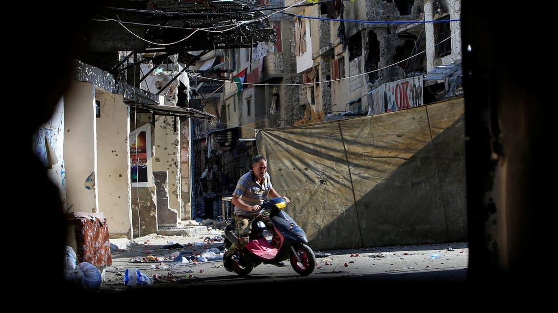 مخيم عين الحلوة جنوب لبنان