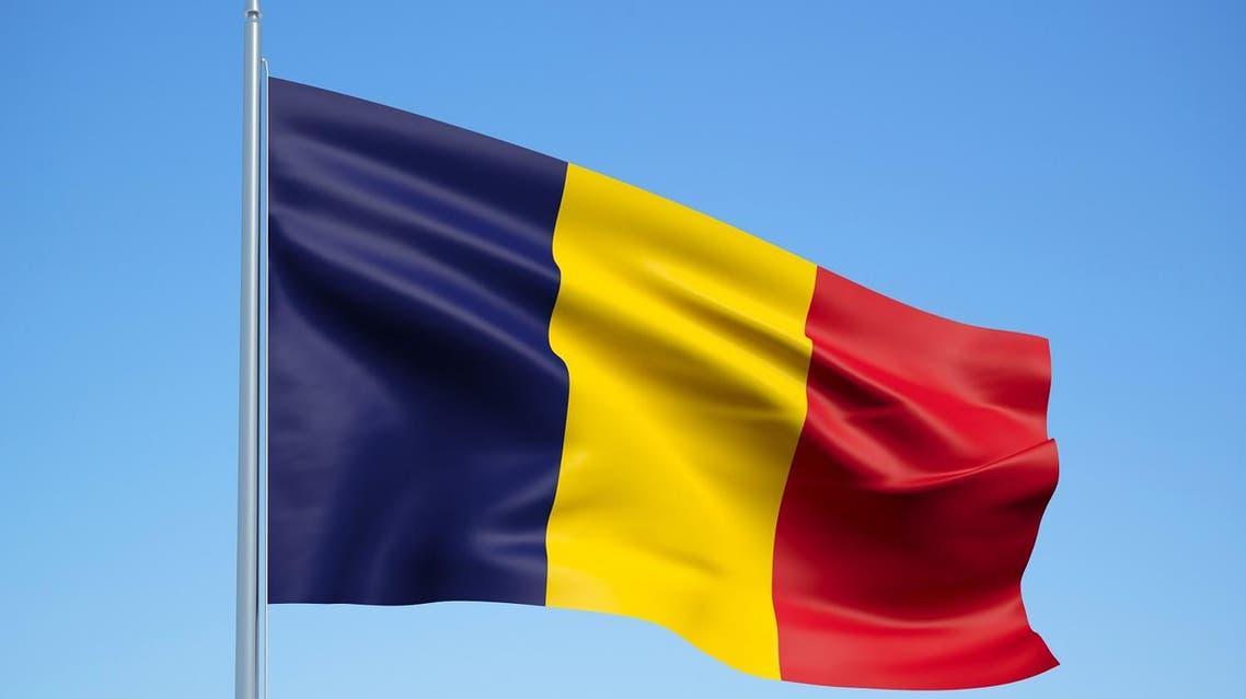 Chad flag. (Shutterstock)