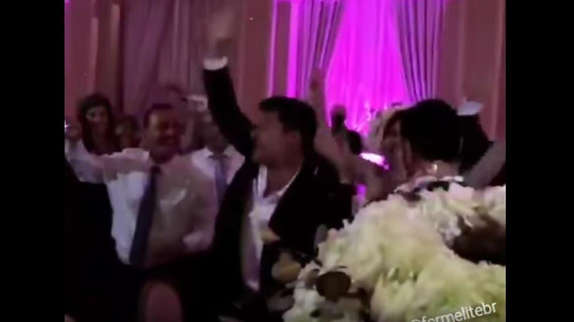 ricky martin at arabic wedding
