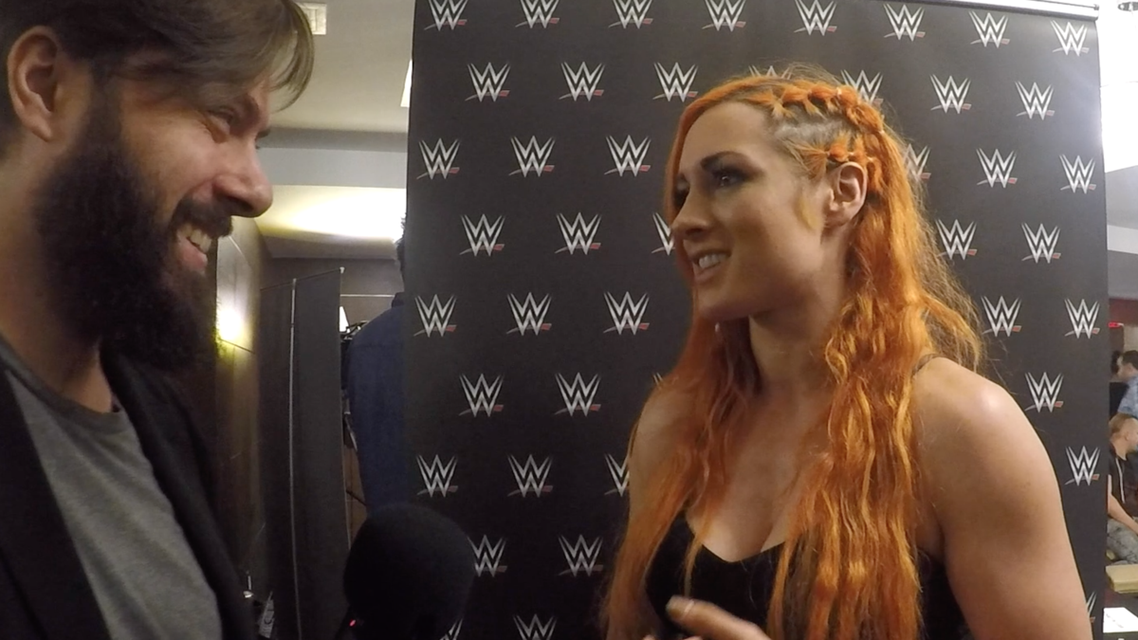 EXCLUSIVE VIDEO: WWE's Becky Lynch responds to Ronda Rousey-to-WWE rumors
