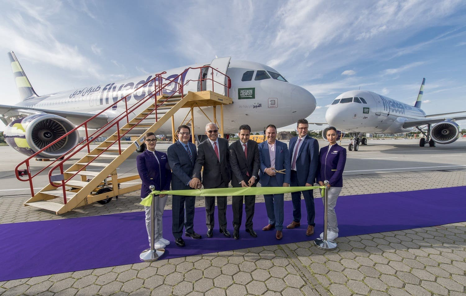 Flyadeal receives its first aircraft and the first of eight Airbus A320 aircraft, becoming the newest operator of the A320 family. (Courtesy: Airbus)