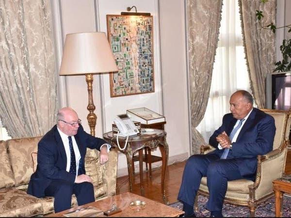مباحثات مصرية بريطانية حول الإخوان وأزمة قطر