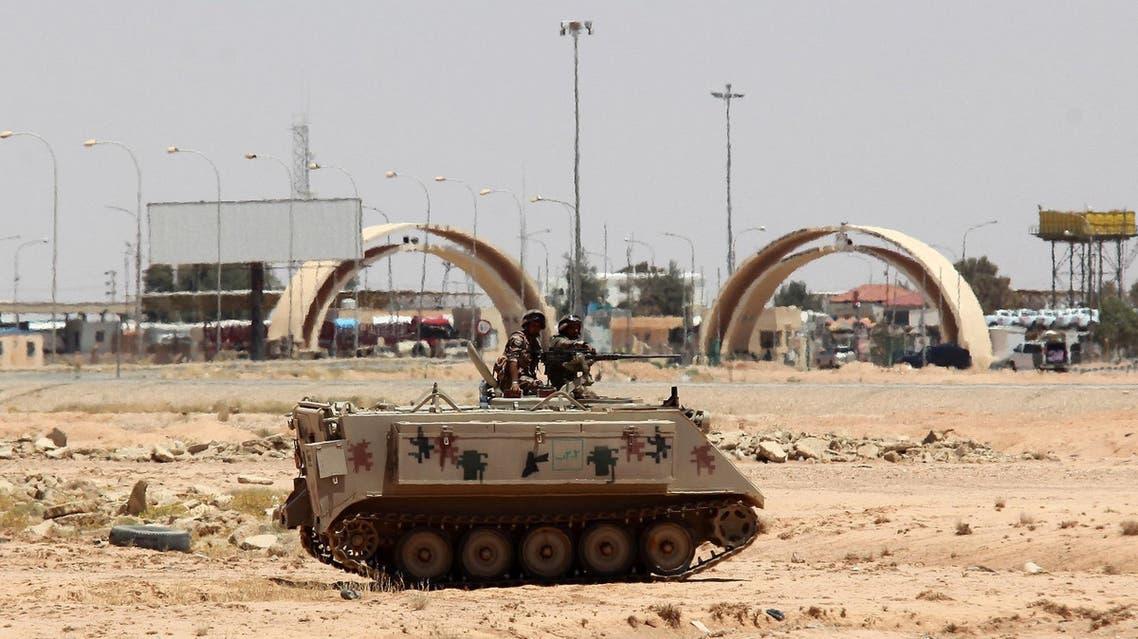 AFP Karamah border crossing Iraq Jordan