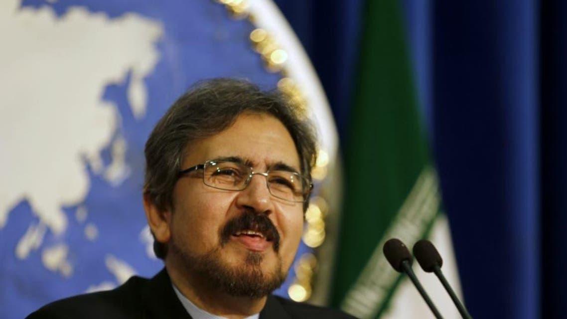 متحدث الخارجية الإيرانية بهرام قاسمي