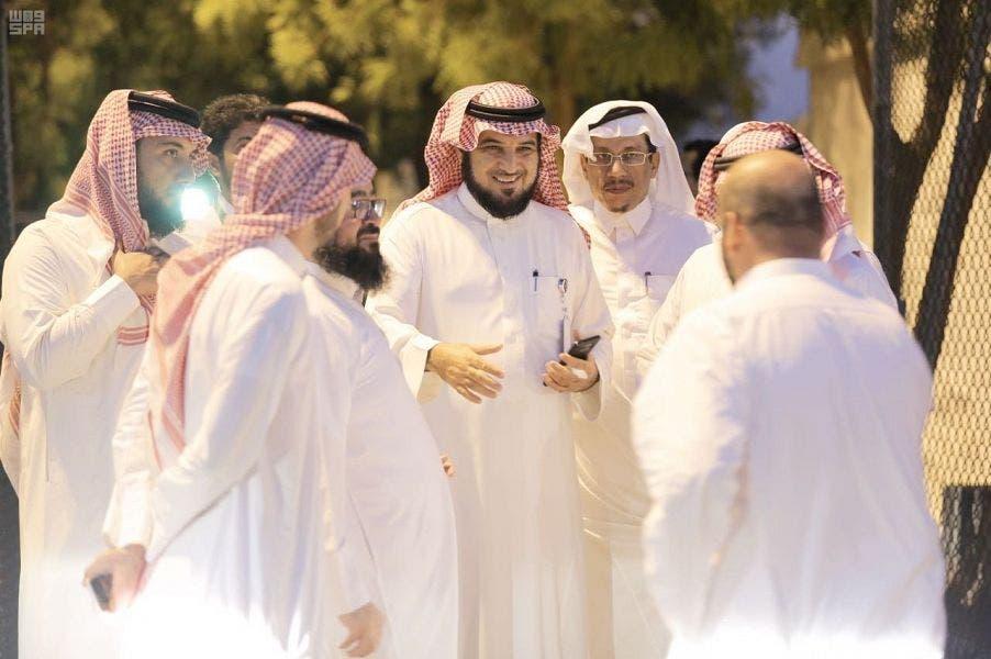 سعودی شاہ سلمان بن عبدالعزیز کے پروگرام برائے حج و عمرہ کے سیکریٹری جنرل عبداللہ بن مدلج المدلج نے میدان عرفات اور منیٰ میں بہ نفس نفیس قطری عازمین حج سے ملاقات کی ہے۔