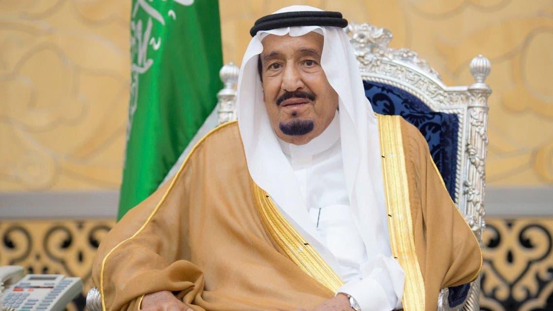 Saudi Arabia's king salman (SPA)