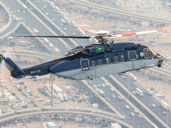 طيران الأمن يكثف طلعاته في سماء مكة