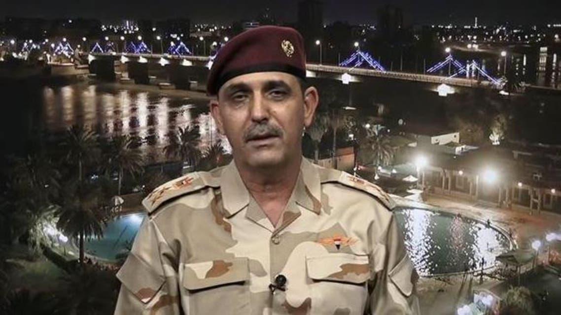 المتحدث الرسمي باسم قيادة العمليات المشتركة العراقية العميد يحيى الزبيدي