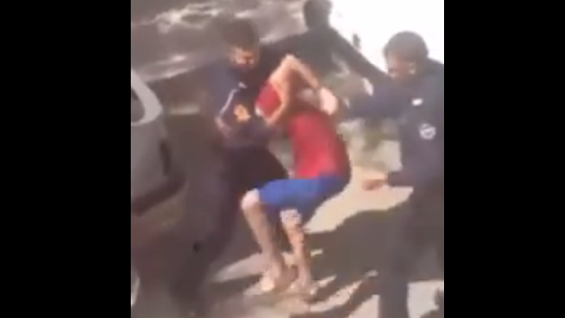 The video has led to the arrest of at least six men in Morocco. (Screengrab)