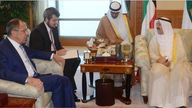 لافروف في الكويت لمحاولة لحلحلةَ أزمة قطر